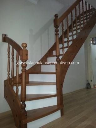 L Dönüşlü Rıhtı Kapalı Merdivenler