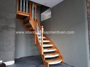 ahşap merdiven
