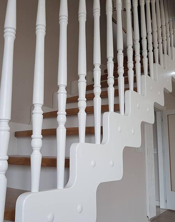 Düz Çıkışlı Merdivenler