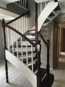 ahsap merdiven